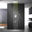 זול ברזים למקלחת-ברז למקלחת - עכשווי כרום מותקן על הקיר שסתום פליז Bath Shower Mixer Taps / Brass