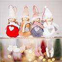 baratos Plantas Artificiais-Decorações de férias Decorações Natalinas Enfeites de Natal Decorativa Cinzento / Café / Vermelho 1pç