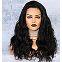 cheap Human Hair Wigs-Virgin Human Hair Lace Front Wig Deep Parting Side Part style Brazilian Hair Body Wave Wig 250% Density with Baby Hair Hot Sale Thick Natural Women's Long Human Hair Lace Wig