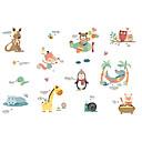 billige Vægklistermærker-Dekorative Mur Klistermærker - Fly vægklistermærker Dyr / Ferier Indendørs / Børneværelse