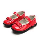 ieftine Pantofi Fetițe-Fete Pantofi PU Primăvară / Toamnă Confortabili Pantofi Flați pentru Copil Negru / Rosu