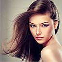 billige Blondeparykker med menneskehår-Ekte hår Blonde Forside Parykk Brasiliansk hår Naturlig rett Parykk 130% Hair Tetthet Dame Lang Blondeparykker med menneskehår