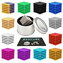 billige Magnetiske leker-216 pcs 3mm Magnetiske leker Magnetiske kuler Magnetiske leker Supersterke neodyme magneter Magnetisk Stress og angst relief Office Desk Leker Lindrer ADD, ADHD, angst, autisme Nyhet Teenager / Voksne