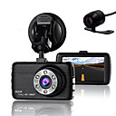 cheap Car DVR-Double Lens Dash Cam Camera DVR Car for Drivers Full HD 1080 P Recorder Camera with Night Vision G-Sensor