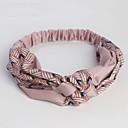 billiga Syntetisk hårförlängning-Bomullstyg pannband med Mönster / tryck 1 st. Dagliga kläder Hårbonad