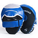cheap Punching Bags & Boxing Pads-Punch Mitts For Muay Thai, Boxing Training, Kickboxing Durable, Half Ball Palm Grip, Adjustable Wrist Strap Breathable, Shockproof, Prevent Injury PU Leather 2 pcs Adults' - Blue / Red ANOTHERBOXER
