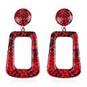 cheap Reborn Doll-Women's Drop Earrings Fancy Ladies Earrings Jewelry White / Brown / Red For Gift Daily 1 Pair