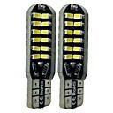 billige Interiørlamper til bil-SENCART 2pcs T10 Bil Elpærer 6 W SMD 3014 360 lm 48 LED interiør Lights Til General motors Alle år