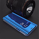 cheap Cellphone Case-Case For Samsung Galaxy S9 Plus / S8 Plus with Stand / Plating / Mirror Back Cover Solid Colored Hard Acrylic for S9 / S9 Plus / S8 Plus