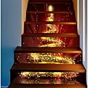 povoljno Zidne naljepnice-Dekorativne zidne naljepnice - Odmor na Wall Naljepnice Božić Outdoor / Ured