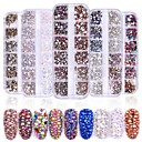 cheap Rhinestone & Decorations-2080 pcs Multi Function / Best Quality Rhinestone Rhinestones For Creative nail art Manicure Pedicure Daily Trendy