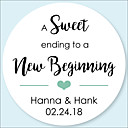 cheap Stickers, Labels & Tags-Wedding Stickers, Labels & Tags - 100 pcs Circular Favor Boxes / Favor Bags / Stickers All Seasons