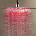 hesapli Duş Başlıkları-Çağdaş Yağmur Duşları Fırçalanmış özellik - Havalı, Duş başlığı