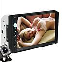 economico Lettori DVD per auto-7 pollice 2 Din In-Dash DVD Player Schermo touch / Altoparlante Bluetooth / Bluetooth per Universali USB 2.0 / AUX / Slot scheda TF Supporto AVI / MOV / DAT MP3 / WMA JPEG / JPG / Multi-funzione / RM