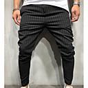 abordables Pantalons & Shorts Homme-Homme Basique Joggings Pantalon - Couleur Pleine / Rayé Vert Véronèse