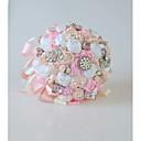olcso Esküvői virágok-Esküvői virágok Csokrok Esküvő / Menyegző Gyöngydíszítés / Selyem 11-20 cm