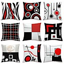 cheap Slipcovers-9 pcs Velvet Pillow Cover, Floral Art Deco Geometic Artistic Modern Contemporary