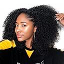 tanie Dopinki na keratynę-Dolago Clip In Ludzkich włosów rozszerzeniach Curly Natutalne Doczepy z naturalnych włosów Włosy naturalne Włosy brazylijskie 7 szt. Bezzapachowy Natutalne 100% Dziewica Wszystko - Naturalna czerń