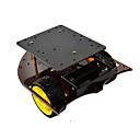 ราคาถูก ส่วนอื่น-ตัวถังรถสมาร์ทรถ 2wd ร่างกายเข้ากันได้กับ arduino