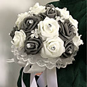 "cheap Party Headpieces-Wedding Flowers Bouquets Wedding Foam 8.66""(Approx.22cm)"