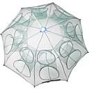 povoljno Ribolovne mreže-Sklopivi kišobran Ribolov rakova Štit za račiće Net 0.65 m Najlon 3*3 mm Prijenosno Jednostavan za korištenje 16 rupa