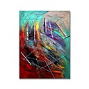 cheap Abstract Paintings-STYLEDECOR® Modern Hand Painted Abstract The Scribble Oil Painting On Canvas With Stretched Canvas