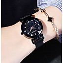 ieftine Ceasuri La Modă-Pentru femei Ceas Elegant Quartz Oțel inoxidabil Negru / Albastru / Violet Rezistent la Apă Cool Analog Modă Elegant - Mov Albastru Roz auriu