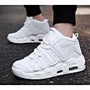 זול נעלי ספורט לגברים-בגדי ריקוד גברים נעלי נוחות PU קיץ & אביב נעלי אתלטיקה כדורסל לבן / שחור ולבן