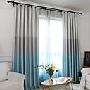 preiswerte Fenstervorhänge-Vorhänge drapiert zwei Panele Maßgeschneiderte Größe Hellgelb / Schlafzimmer