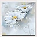 hesapli Soyut Resimler-Hang-Boyalı Yağlıboya Resim El-Boyalı - Soyut / Çiçek / Botanik Modern Iç çerçeve olmadan