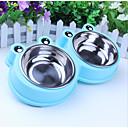 preiswerte Schüsseln & Futternäpfe für Hunde-0.5 L Hunde / Katzen Schalen & Wasser Flaschen Haustiere Schüsseln & Füttern Waschbar / Einfach zu installieren Blau