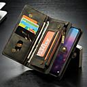 povoljno iPhone maske-Θήκη Za Huawei Huawei P20 Novčanik / Utor za kartice / sa stalkom Korice Jednobojni Tvrdo PU koža