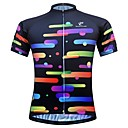 cheap Security Sensors & Alarms-JESOCYCLING Women's Short Sleeve Cycling Jersey - Black Bike Jersey Top Breathable Moisture Wicking Quick Dry Sports 100% Polyester Mountain Bike MTB Road Bike Cycling Clothing Apparel / Stretchy