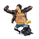 baratos Personagens de Anime-Figuras de Ação Anime Inspirado por One Piece Monkey D. Luffy PVC 17.5 cm CM modelo Brinquedos Boneca de Brinquedo