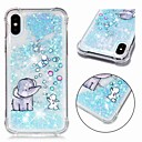 economico Custodie per iPhone-Custodia Per Apple iPhone XR / iPhone XS Max Resistente agli urti / Liquido a cascata / Transparente Per retro Animali / Glitterato Morbido TPU per iPhone XS / iPhone XR / iPhone XS Max
