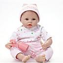 お買い得  リボーンドール-FeelWind リボーンドール 赤ちゃん(男) 22 インチ シリコーン ビニール - 生き生きとした 手作り キュート 子供 無毒 子供 男女兼用 おもちゃ ギフト