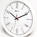 abordables Relojes de Pared Modernos y Contemporáneos-Contemporáneo moderno Plástico y metal Redondo Interior