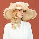 cheap Party Headpieces-Organza Kentucky Derby Hat / Hats with Bowknot 1pc Wedding / Party / Evening Headpiece