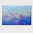 economico Copriscuscini-Hang-Dipinto ad olio Dipinta a mano - Astratto Paesaggi Contemporaneo Modern Senza telaio interno