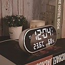 זול שעונים מעוררים-שעון מעורר דיגיטלי פלסטיק אוטומטי 1 pcs