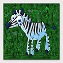 tanie Pejzaże-Hang-Malowane obraz olejny Ręcznie malowane - Abstrakcja Nowoczesny Naciągnięte płótka