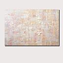 preiswerte Abstrakte Gemälde-Hang-Ölgemälde Handgemalte - Abstrakt Landschaft Zeitgenössisch Modern Fügen Innenrahmen