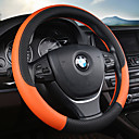 halpa Istuinsuojat autoon-Ohjauspyörän suojukset Nahka 38cm Purppura / Punainen / Sininen Käyttötarkoitus Universaali Kaikki mallit Kaikki vuodet