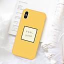 hesapli iPhone Kılıfları-Pouzdro Uyumluluk Apple iPhone XS / iPhone XR / iPhone XS Max Temalı Arka Kapak Kelime / Cümle Yumuşak TPU