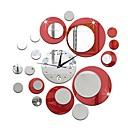זול שעוני קיר-סגנון מודרני פלסטי לֹא סָדִיר בבית