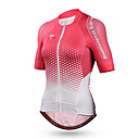 cheap Cycling Jersey & Shorts / Pants Sets-Mountainpeak Women's Short Sleeve Cycling Jersey - Pink Plaid / Checkered Bike Jersey Top Breathable Quick Dry Sweat-wicking Sports Coolmax® Mountain Bike MTB Road Bike Cycling Clothing Apparel