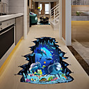cheap Sexy Uniforms-Decorative Wall Stickers - 3D Wall Stickers / Animal Wall Stickers Landscape / Animals Living Room / Bedroom / Kitchen