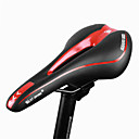 billige Saddelstænger og sadler-WEST BIKING® Cykelsadel Åndbart Komfort Hynder PU Læder silica Gel Cykling Vejcykel Mountain Bike Rød Grøn Blå