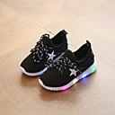 זול סנדלים לילדים-בנות נוחות בד גמיש נעלי אתלטיקה פעוט (9m-4ys) / ילדים קטנים (4-7) הליכה שחור / כחול / ורוד אביב קיץ