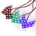 hesapli Car Signal Lights-Çifti dc12v 14smd ok led paneller araba yan ayna arka dönüş sinyal gösterge ışıkları